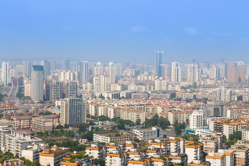 现代的城市 免版税库存照片