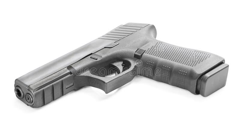 现代的枪 免版税库存照片