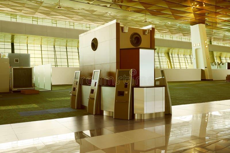 现代空的大厅 免版税图库摄影
