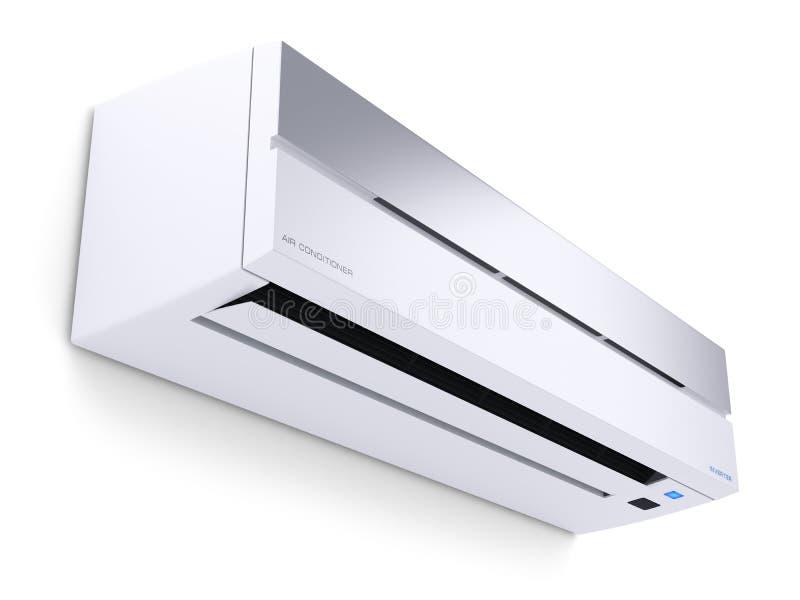 现代空调器3D 向量例证