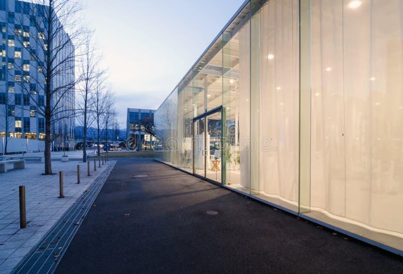 现代建筑学外部  图库摄影