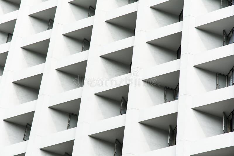 现代建筑学细节-香港,中国 库存图片