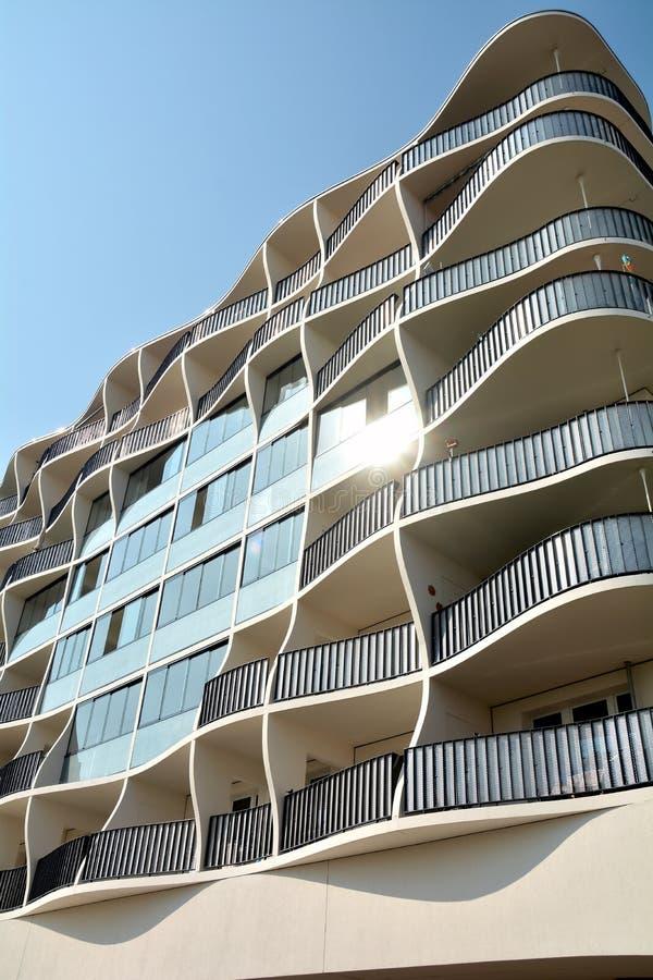 现代建筑学 库存照片
