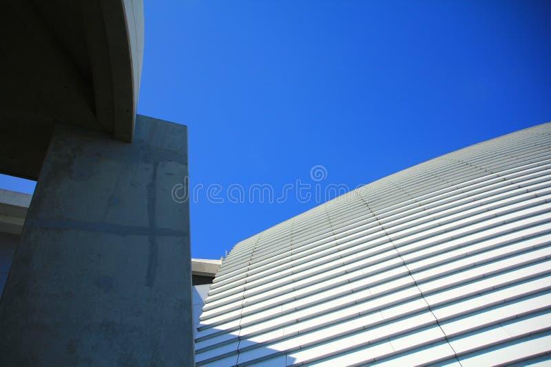 现代建筑限界 库存图片