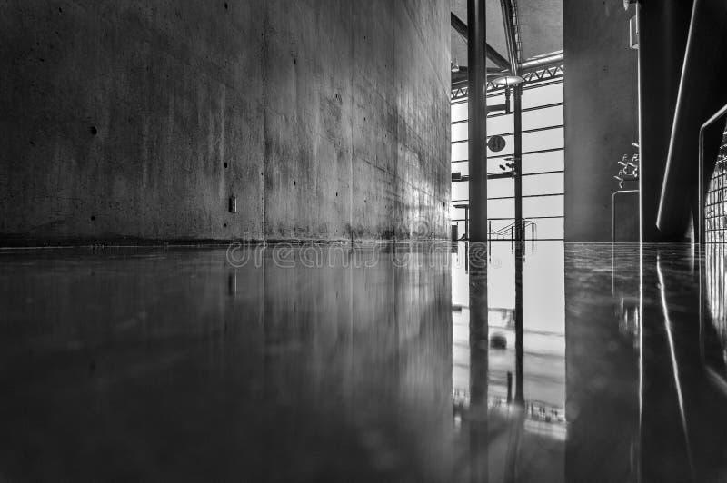 现代建筑细节 免版税库存图片