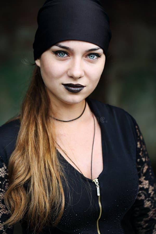 现代美丽的巫婆 库存照片