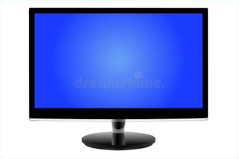现代被带领的显示器 免版税库存图片