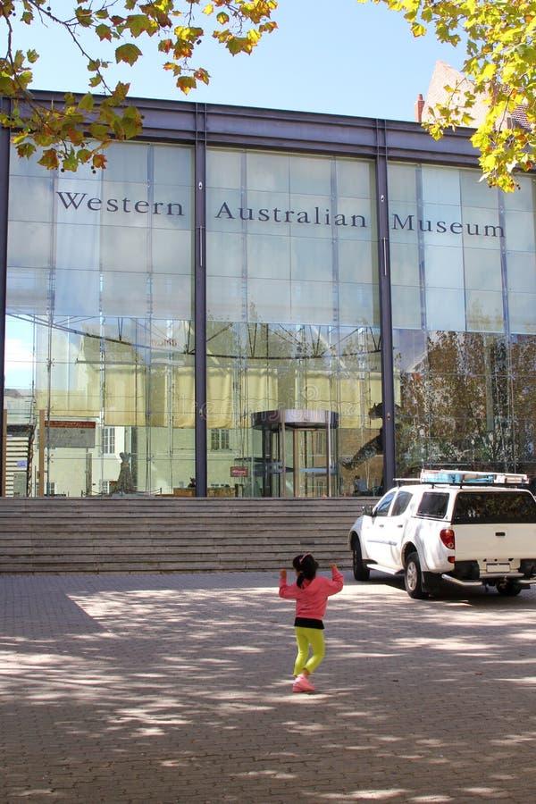 现代西部澳大利亚博物馆,珀斯,澳大利亚 免版税库存图片