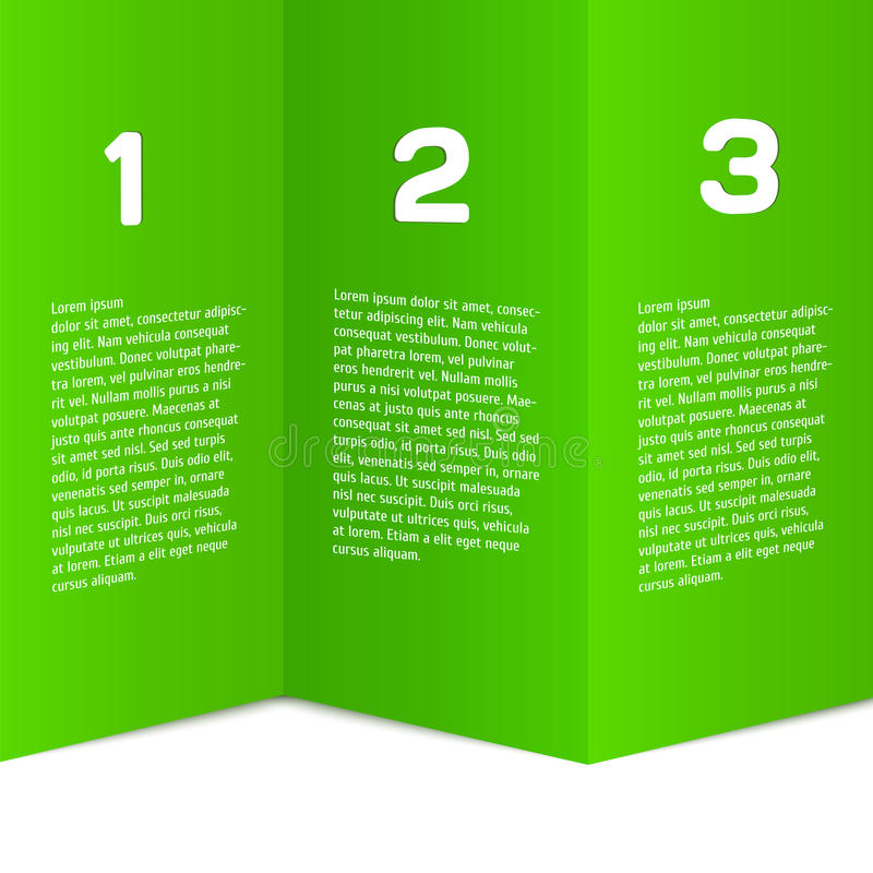 现代,干净,充分地编辑可能设计的模板- 皇族释放例证