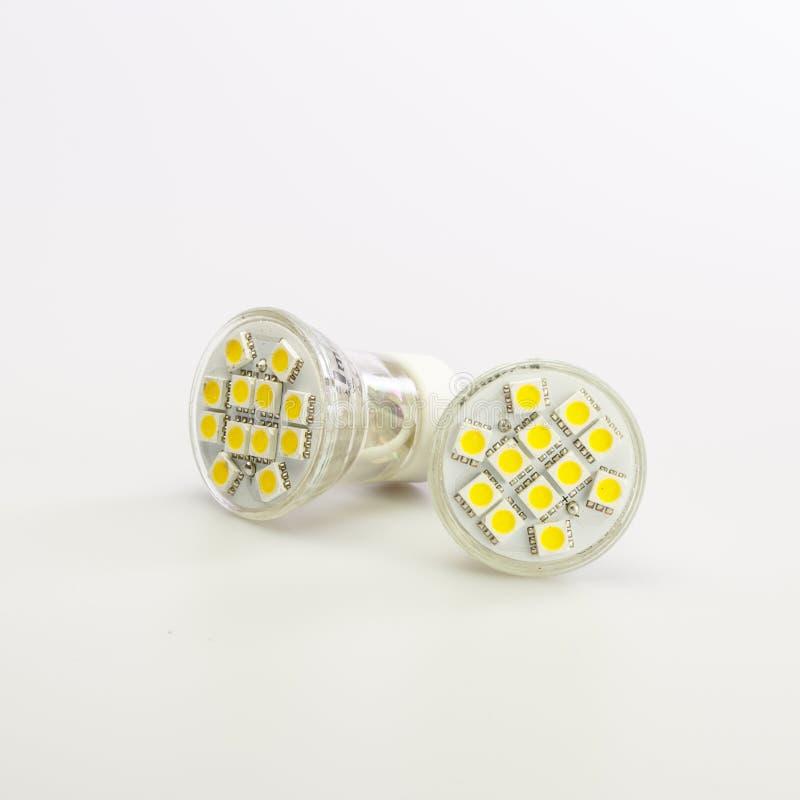 现代LED电灯泡 图库摄影