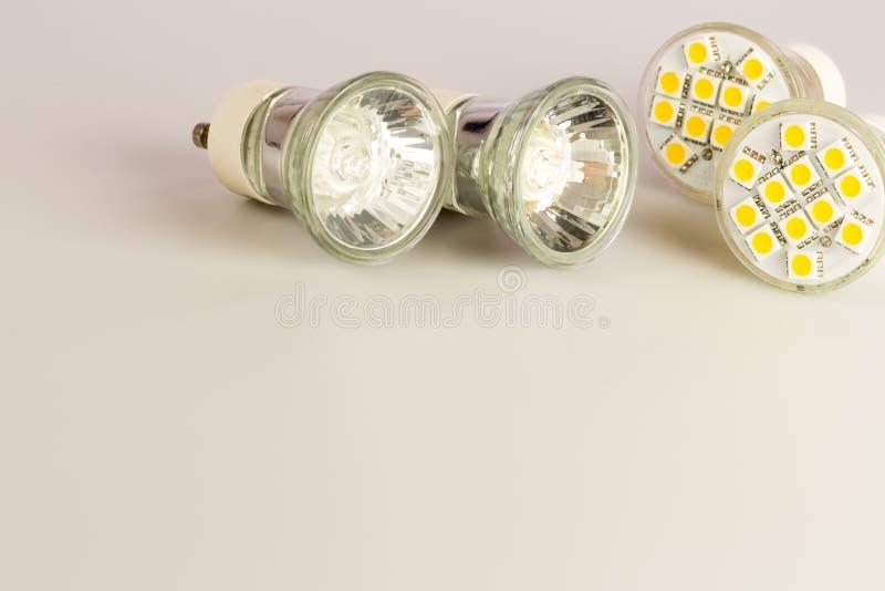 现代LED电灯泡 库存图片