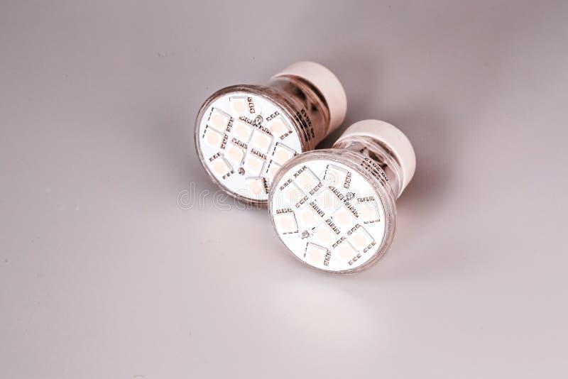 现代LED电灯泡 免版税库存照片