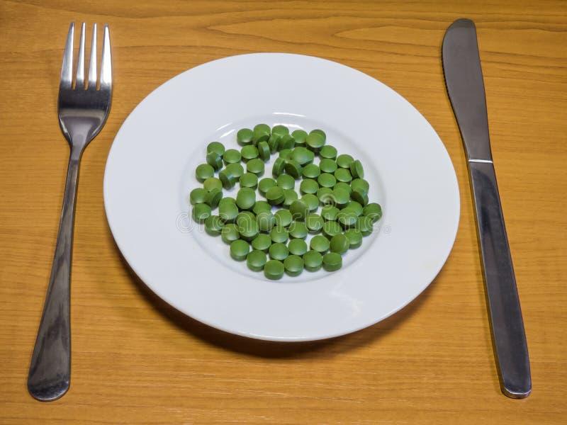 现代superfood 免版税库存图片