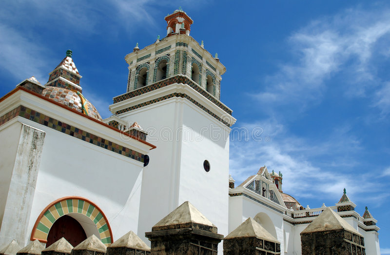 玻利维亚大教堂摩尔人 库存图片