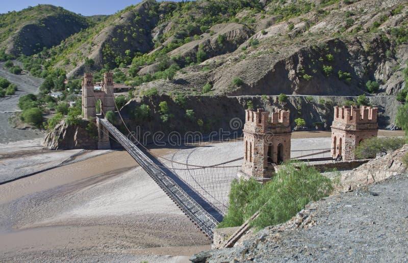 玻利维亚桥梁 免版税库存图片
