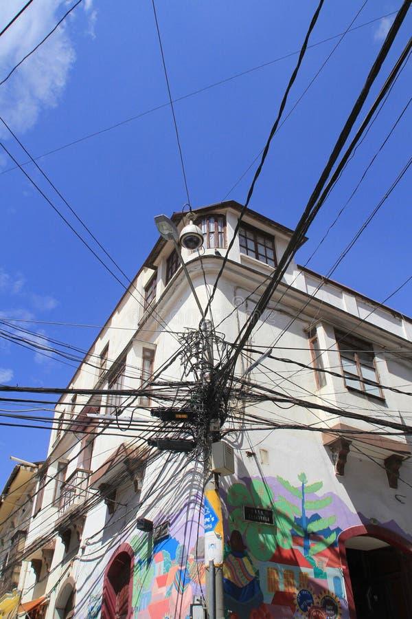 玻利维亚的电汇 库存照片