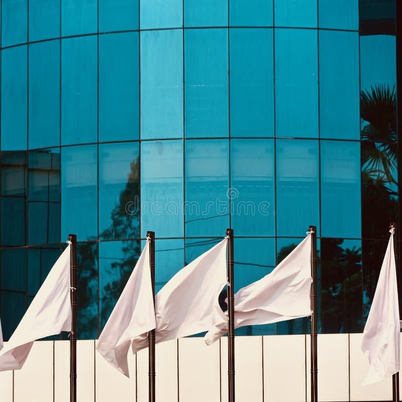 玻璃做了外部设计一张现代大厦股票照片 库存照片