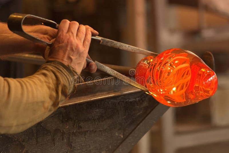 玻璃制造商 免版税库存照片