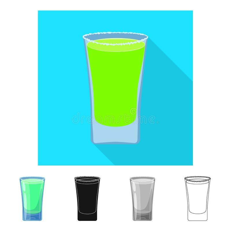 玻璃和水标志传染媒介设计  设置玻璃和清楚的储蓄传染媒介例证 库存例证