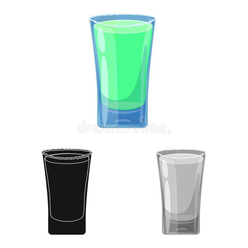玻璃和水标志的传染媒介例证 设置玻璃和清楚的储蓄传染媒介例证 向量例证