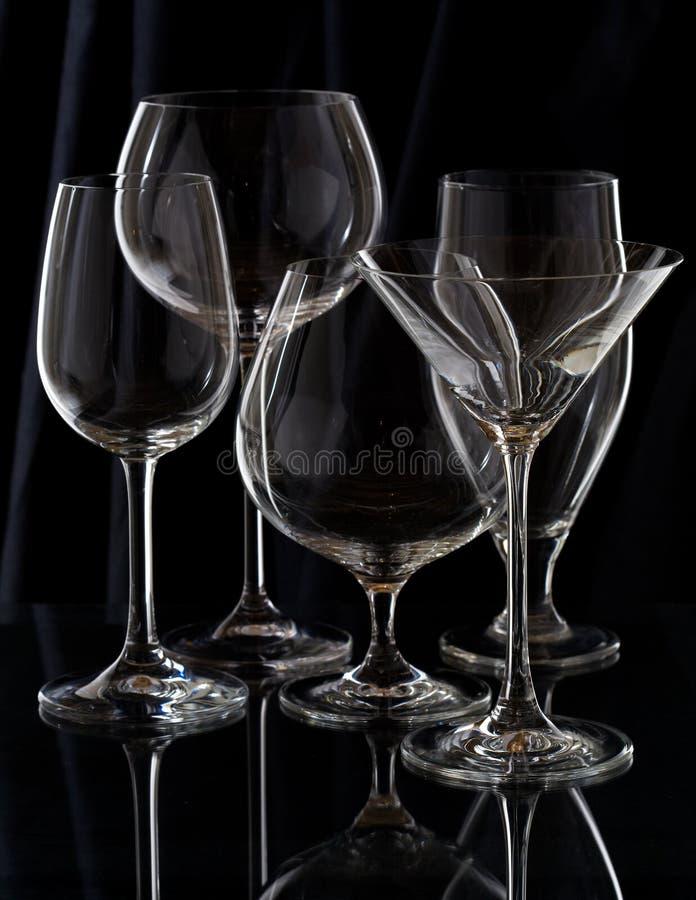 玻璃器皿 免版税图库摄影