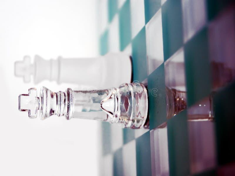 玻璃国王 图库摄影