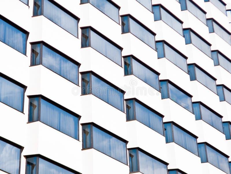 玻璃大厦反映 库存图片