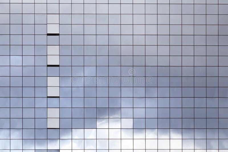 玻璃大厦表面  免版税库存图片