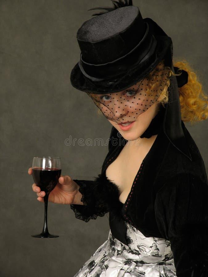 玻璃夫人酒 库存照片
