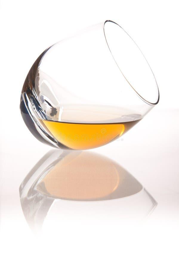 玻璃威士忌酒 库存图片