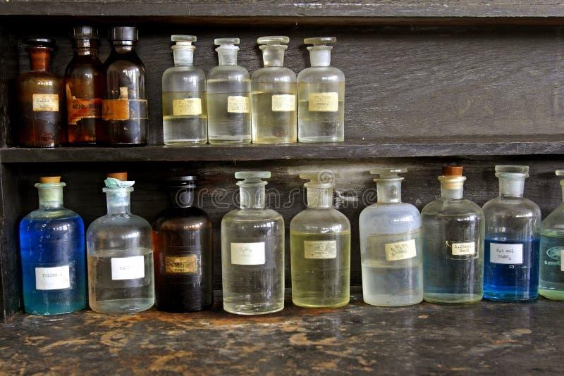 玻璃实验室 库存照片