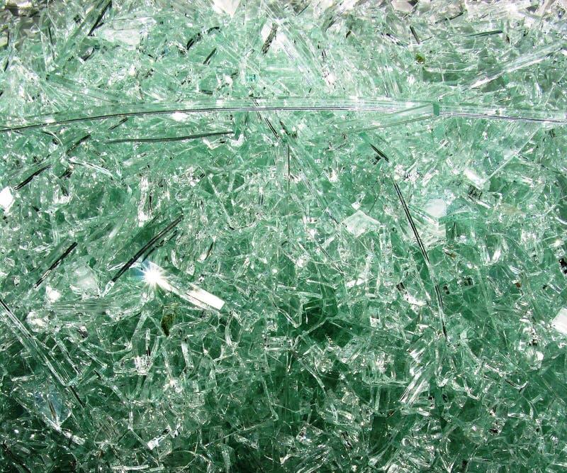 玻璃打碎了视窗 免版税库存照片
