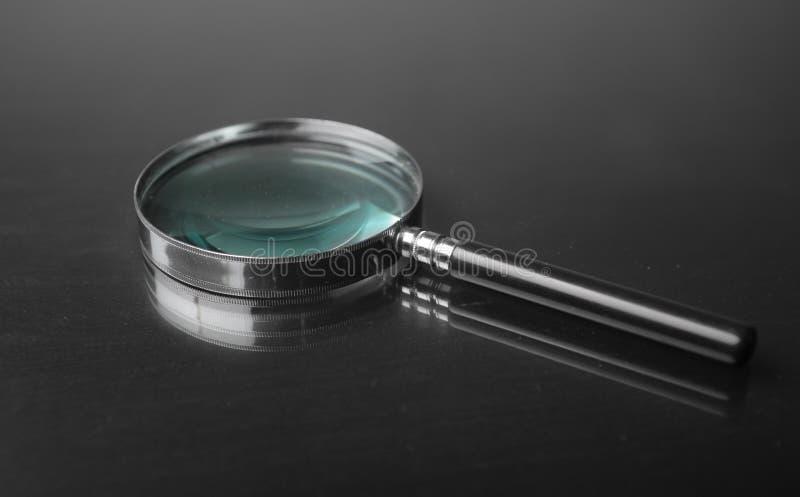 玻璃扩大化 库存图片