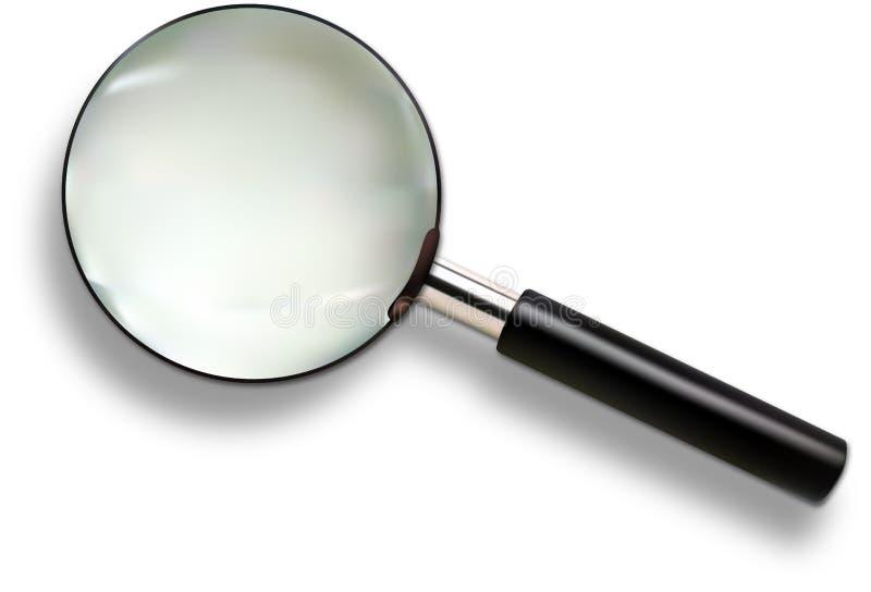 玻璃扩大化 库存例证