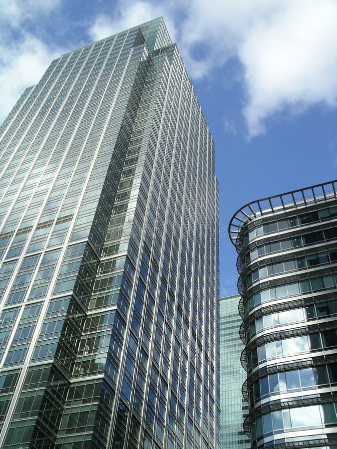 玻璃摩天大楼 免版税库存图片