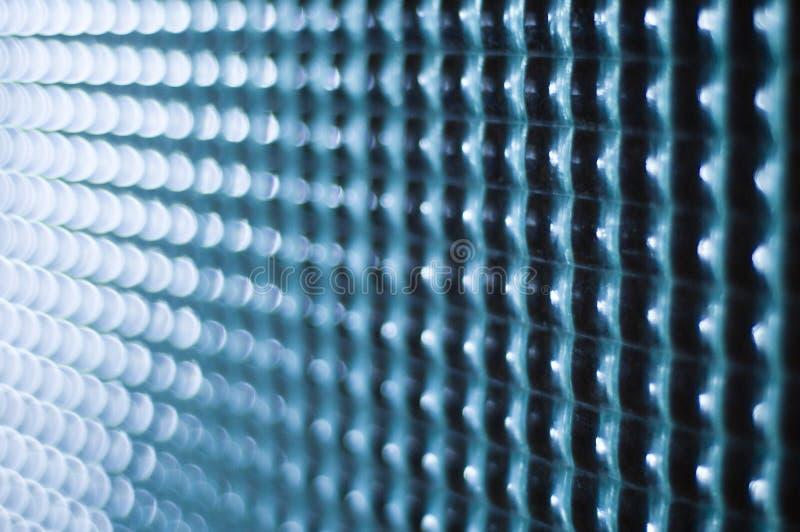 玻璃方形纹理 免版税库存照片
