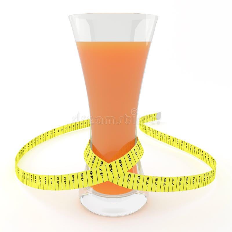 玻璃汁液评定的磁带 库存图片