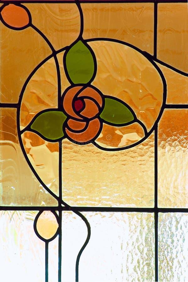 玻璃污点视窗 免版税库存图片