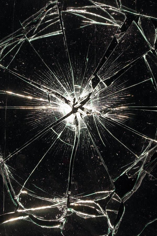 玻璃消散 库存照片