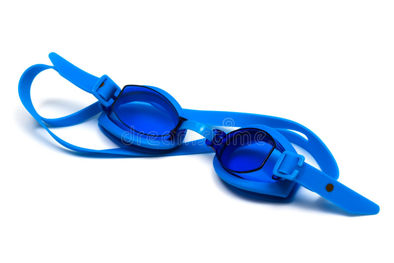 玻璃游泳 免版税库存图片