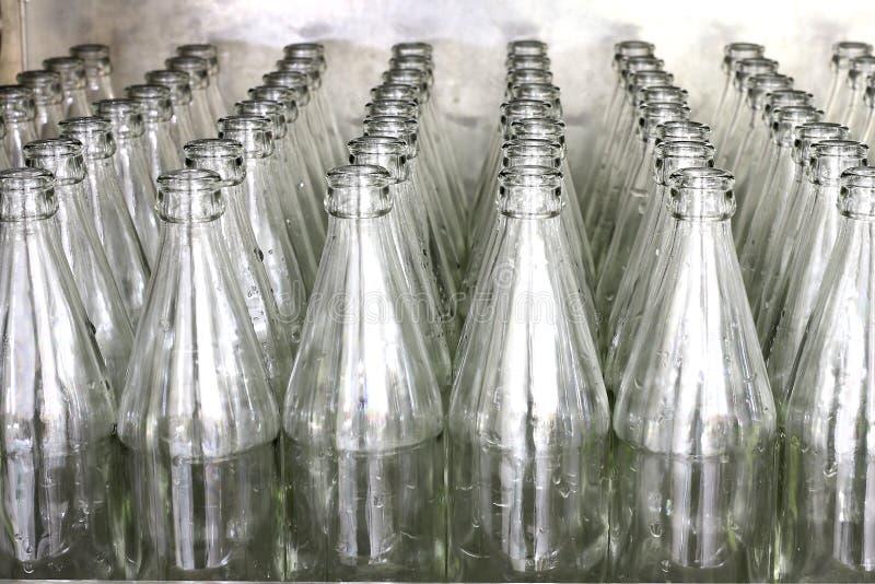 玻璃瓶许多 免版税库存图片