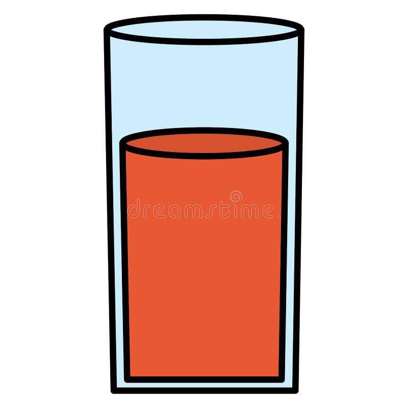 玻璃用汁液果子 皇族释放例证