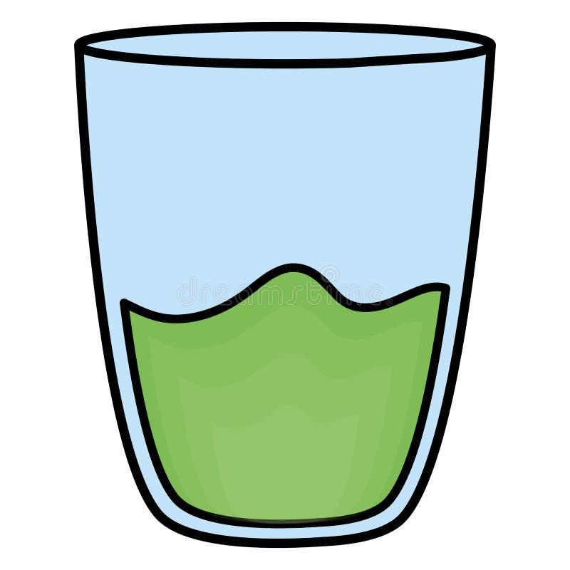 玻璃用汁液果子 向量例证