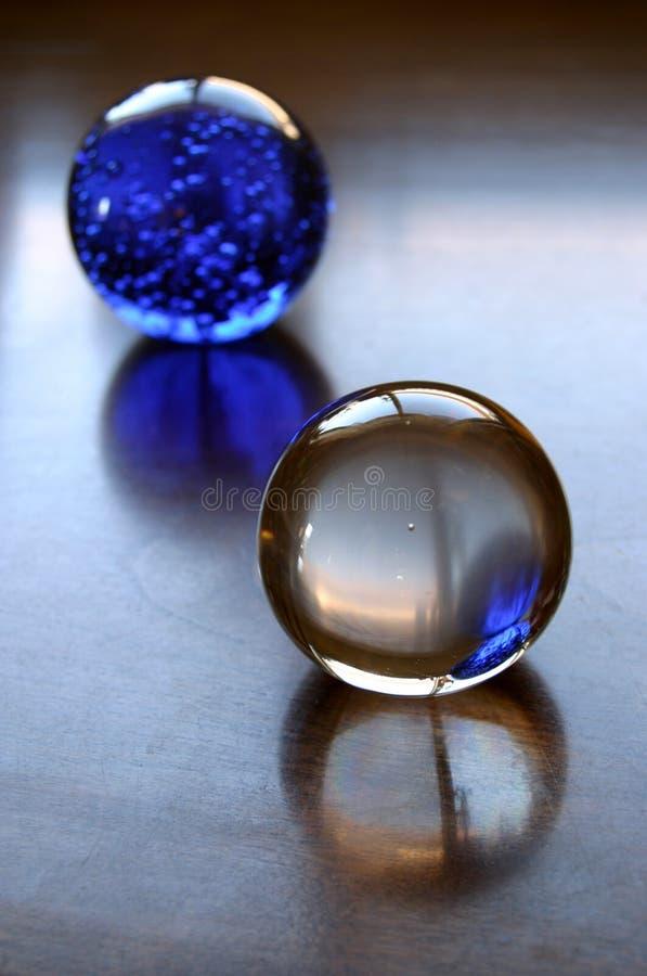 玻璃的球 免版税库存照片