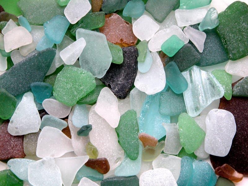 玻璃石头 库存图片