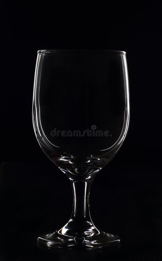 玻璃线路白色 免版税图库摄影