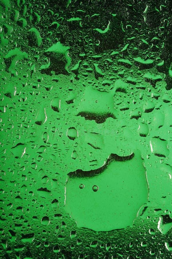 玻璃绿色水 库存照片