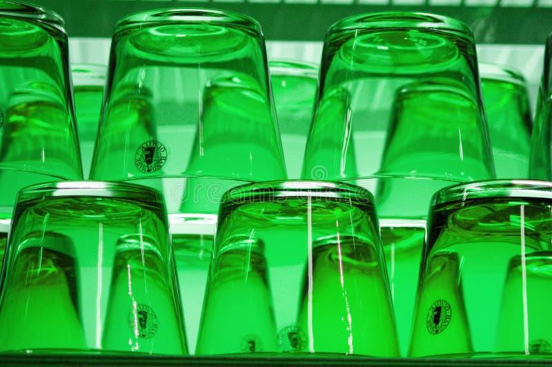 玻璃绿色 免版税库存照片