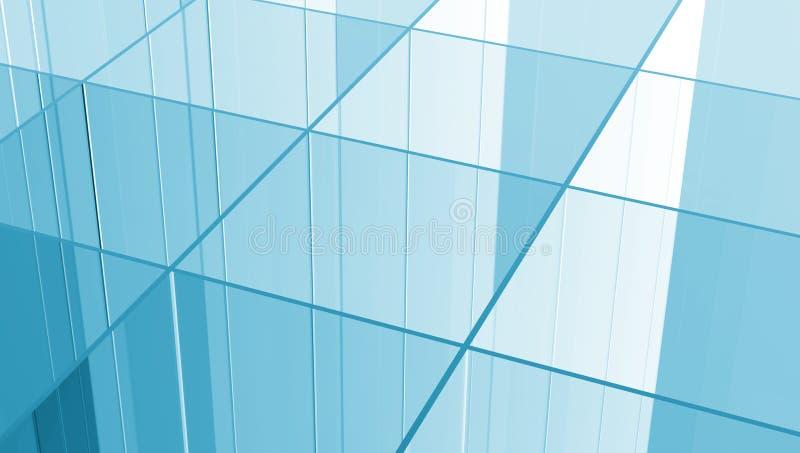 玻璃网格 向量例证