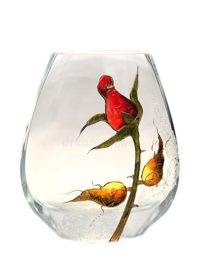 玻璃花瓶 库存照片